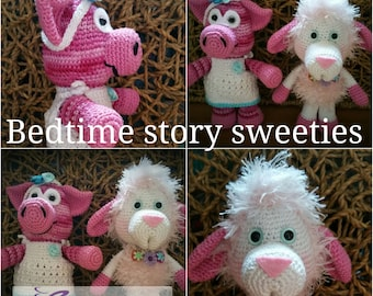 Bedtime story Sweeties Sheep and Piggy