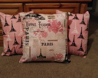 Paris pillow set