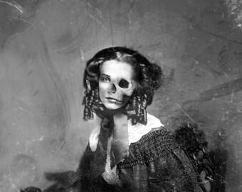 Gothic Victorian Horror Portrait (Framed)