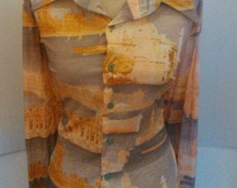 Free Shipping Vintage Shirt by Da Vinci