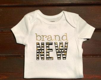Brand New baby onesie - newborn onesie