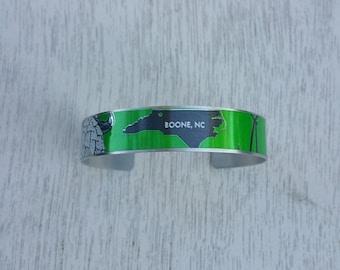 Boone NC Cuff Bracelet