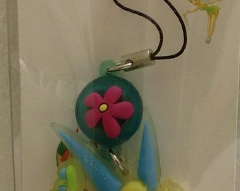 Mobo Disney-TinkerBell- Flashing-Cell-Phone-Tablet-Ipod-Mp3-Charm-Strap-Purse