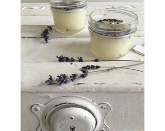 Sweet Lavender Small Wax Free Candle