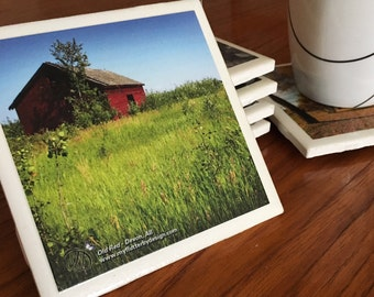 Photographic Ceramic Coasters set of 4