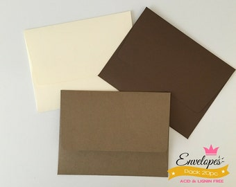 A6 Envelopes for 4 x 6 Photos and Cards, Invitations, Purple, Pack of 20 / A6 envelopes for invitations purples