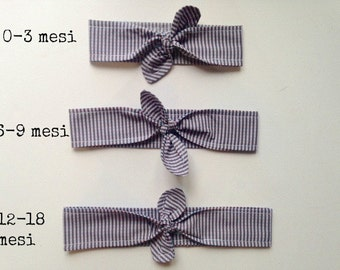 Baby and newborn hair bow, baby headbands for newborn little girls and baby shower