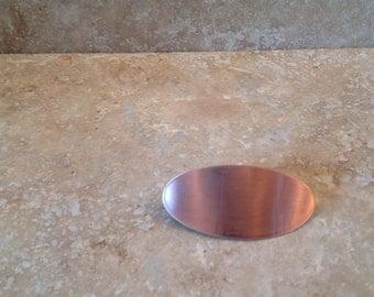 Copper barrette