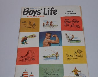 Boys' Life Magazine, November 1962, Vintage Advertising, Exercise, Articles and Photo Features