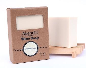 Chardonnay Wine Soap | Natural Handmade Soap | Wine Gift