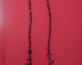"20"" Hematite Necklace"
