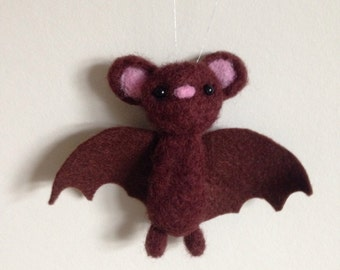Brown Bat Soft Sculpture