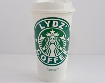 Personalized Starbucks Cup -  Several Colors - Coffee Cup - FREE SHIPPING
