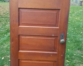 Old Wood Door, Antique, Interior Door, Building Supply, Architectural  Salvage, Farmhouse