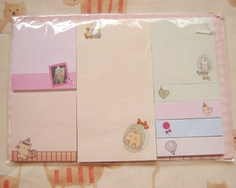 Cute cat stationery collection