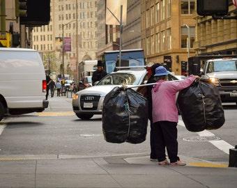 Street photography print- SF