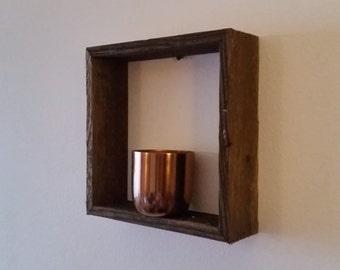 Reclaimed Wood Shadow Boxes