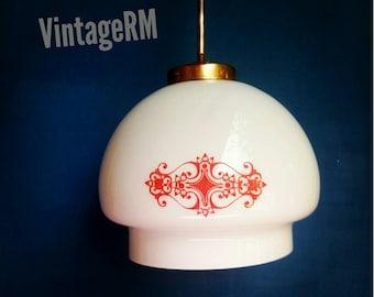 Single pendant light. Vintage lighting