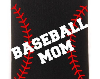 Baseball or T-Ball Mom Can Drink Holder
