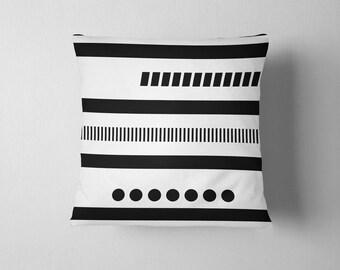 Geometric Tribal pattern throw pillow