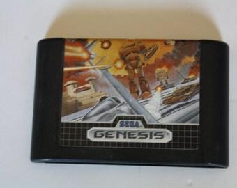 Herzog Zwei for Sega Genesis **RARE**