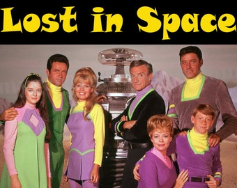 Lost In Space Poster – 1960's Sci-Fi Television show