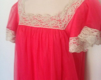 1950's/1960's Lace & Chiffon Gown