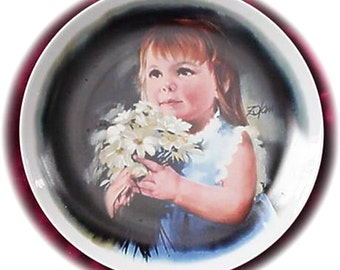 For You, Zolan's Childrens Plate Collection, c1981