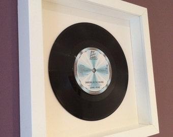 "Lionel Richie ""Dancing On The Ceiling"" - Framed Original Vinyl Gift"