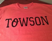 "Towson T-Shirt with Orioles ""O"""