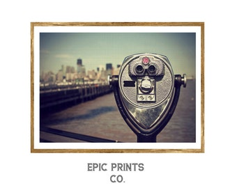 City Viewfinder Print, Minimalist Wall Art Decor, Landscape Decor, Printable Art, Instant Download Art Print, Urban Decor