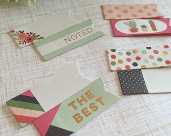 On Trend Collection Sticky Note Page Flags