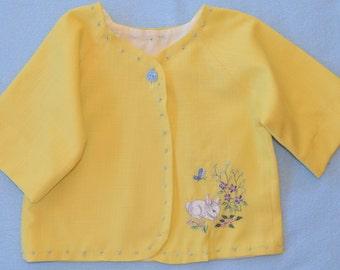 Linen Bunny Jacket