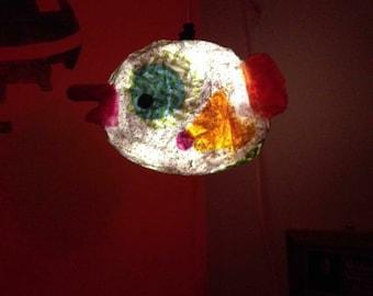 Fish pendent light