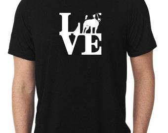 Love Jack Russell Terrier T-Shirt park jrt parson T202