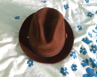 Dobbs Brown Suede Fedora