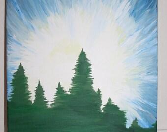 Evergreen Painting