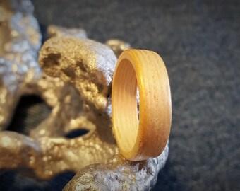 Bamboo Bent Wood Ring