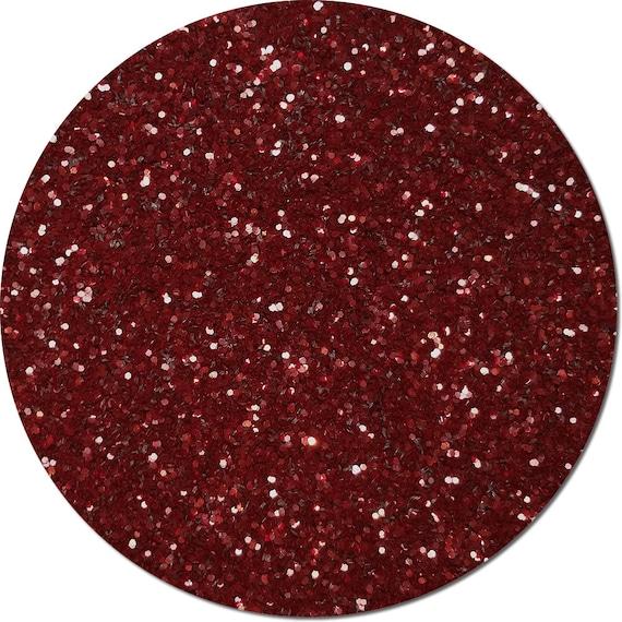chunky craft glitter maroon burst by cpgglittermyworld on