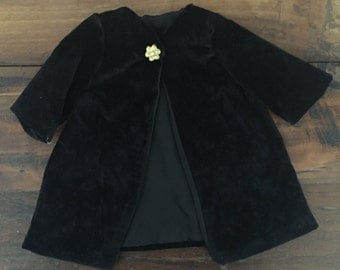 Velvet Coat Doll