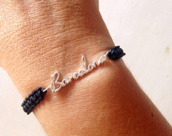 Bracelet Barcelona of Silver's law