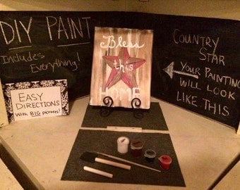 Paint Night At Home-All materials included