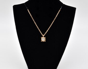 Golden Shine Charm Fashion Necklace