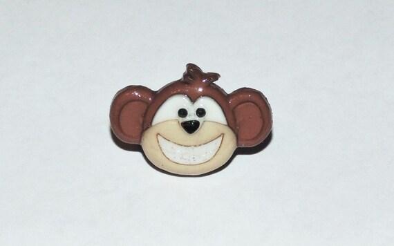 Baby Starters Sock Monkey Lovey Little Monkey Big Smiles ... |Monkey Big Smile