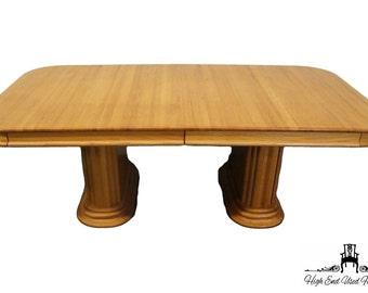 "WAMBOLD FURNITURE Modern Madonna Oak 84"" Dining Table 5810"