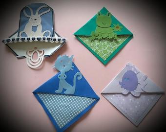 Handmade corner Bookmarks