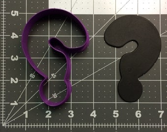 Question Mark 100 Cookie Cutter