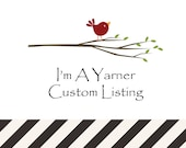 Custom Listing for James