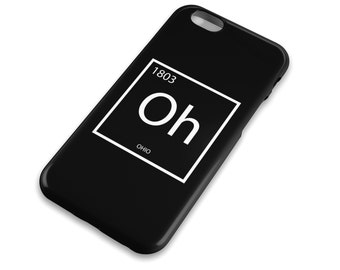Periodic table notes etsy ohio element cell phone case columbus cincinatti dayton periodic table apple urtaz Choice Image