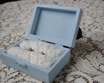 blue ring bearer box